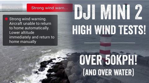 DJI Mini 2 High Wind Test!