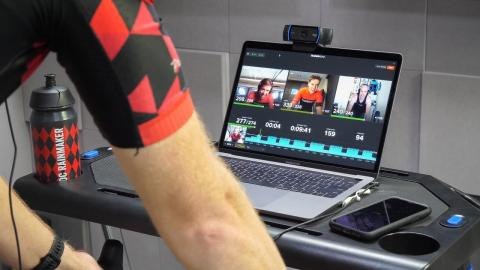 TrainerRoad Live Group Workouts with Video Chat: How it works!