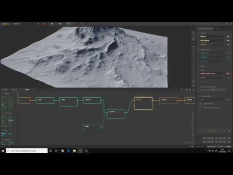 Gaea for Beginners #5 | Creating the shape of our first terrain