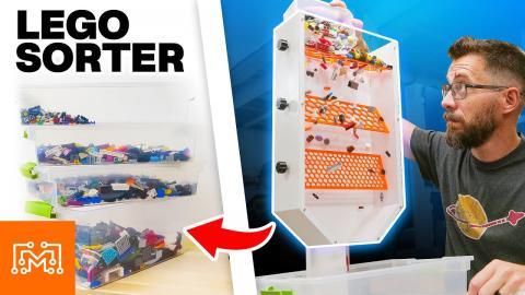 DIY LEGO Brick Sorter   I Like To Make Stuff