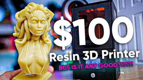 $100 Resin 3D Printer???????? Lotmaxx CH-10 Review - Is it any good?