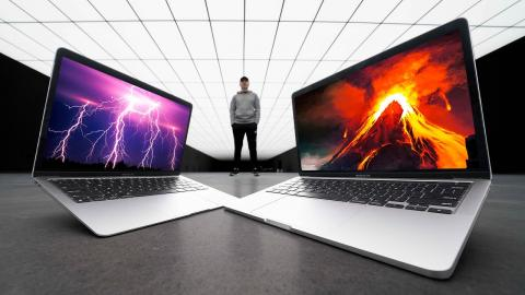 Unboxing The 2020 M1 MacBook Air vs MacBook Pro