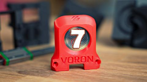 Was live: Building a Voron 2.4! (Part 7: Firmware and first moves)