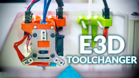 The E3D MegaVolcano, Tool-changer and other shenanigans #MRRF2018