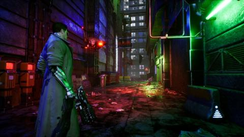 Cyberpunk Alley (Speed Level Design / Unreal Engine 5)