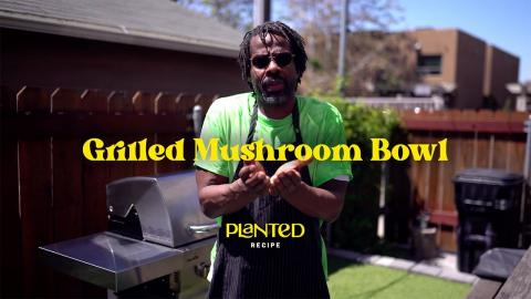 Grilled Chipotle Mushroom Bowl Recipe | CharBroil®