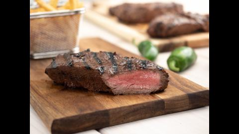 Grilled Flat Iron Steak | CharBroil®