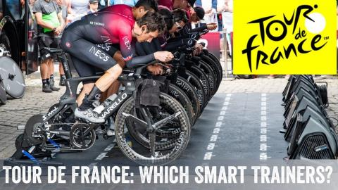 Tour de France 2019: Which smart trainers do they use?