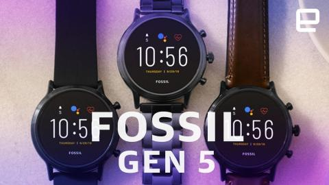 Fossil's latest stylish smartwatches can last for days
