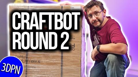 Craftbot FLOW IDEX XL Unboxing : Round 2