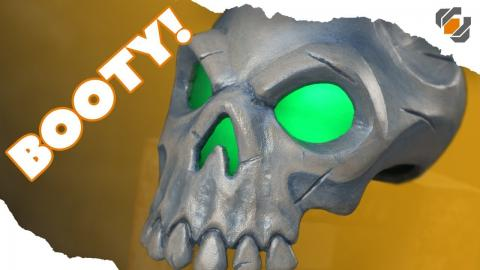 Sea of Thieves Skull Prop - ONE DAY BUILD - Tutorial + Free Templates