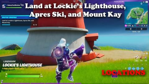 Land at Lockie's Lighthouse, Apres Ski, and Mount Kay - LOCATIONS