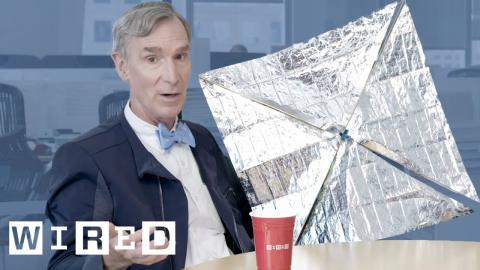 Bill Nye Explains the Science Behind Solar Sailing | WIRED