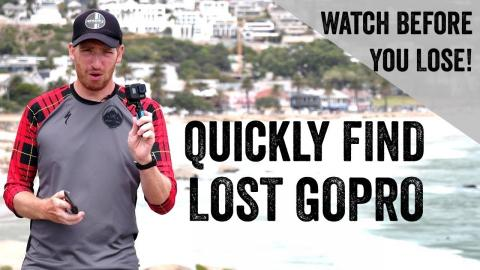 3 Ways To Find Your Lost GoPro