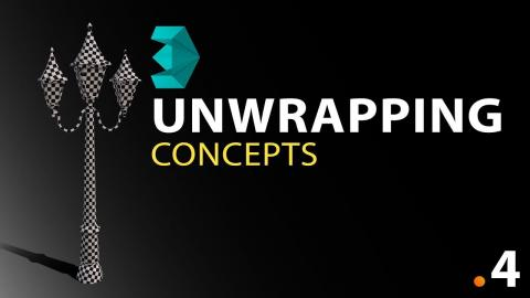 Unwrapping Concepts #4 - 3DS Max Modelling Tutorial Course