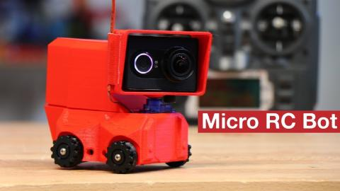 RC MINI SERVO ROBOT