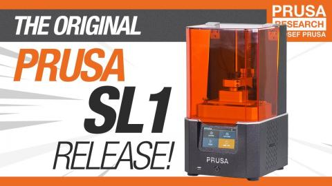 Introducing Original Prusa SL1 - Open-source SLA 3D printer by Josef Prusa