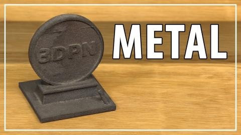 3D Printing Metal with the Iro3D Desktop Metal 3D Printer - Solid High Carbon Steel Parts!