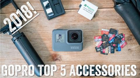 Top GoPro 2018 Accessories: My Go To Favorites!