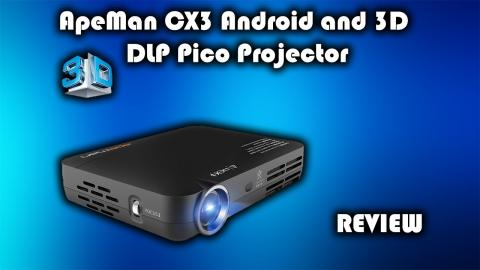 Apeman CX3 Android and 3D DLP Pico Projector Review