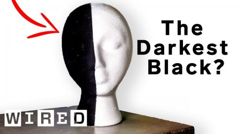The Darkest Black on Earth? Why Scientists & Artists Want the World's Blackest Substances | WIRED
