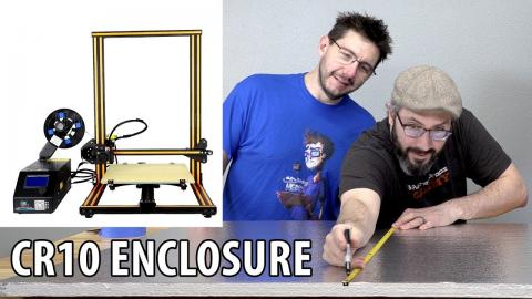 3D Printing ABS on the CR10? Building a 3D Printer Enclosure with Punished Props