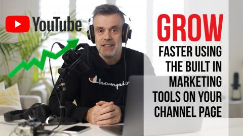 Grow your channel, get more views. Let your channel page do the work for you!