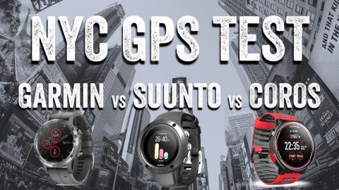 NYC GPS Running Test: Fenix 5 Plus vs Suunto Trainer vs COROS Pace