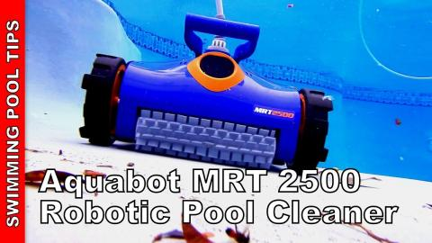 Aquabot MRT 2500 Robotic Pool Cleaner - Fillters down to 2 microns, 2 yr Bumper to Bumper Warranty!