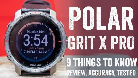 Polar Grit X Pro In-Depth Review: 9 New Things To Know