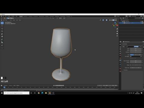 Tips & Tricks for Blender 2.8 | How to Revolve a Curve