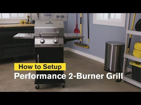 How to Assemble the Performance Series™ 2-Burner Gas Grill | Char-Broil®
