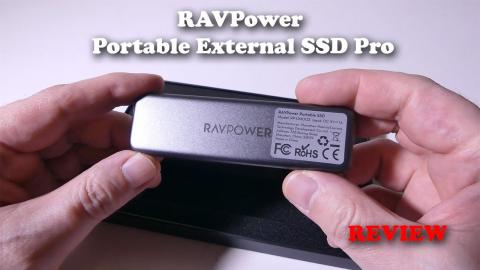 RAVPower Portable External SSD Pro REVIEW and SPEED Test