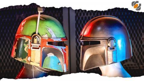 Let's Make Foam Helmets! BOBA FETT & THE MANDALORIAN | 500k Community Challenge