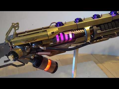 5000 $ custom build: Heavy Steampunk Laser Rifle