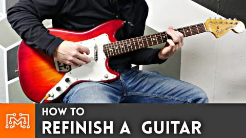 How to Refinish A Guitar