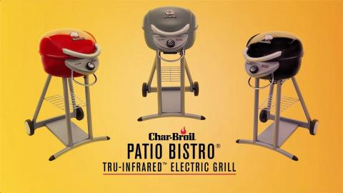 Char-Broil Patio Bistro® TRU-Infrared™ Electric Grills | Char-Broil®