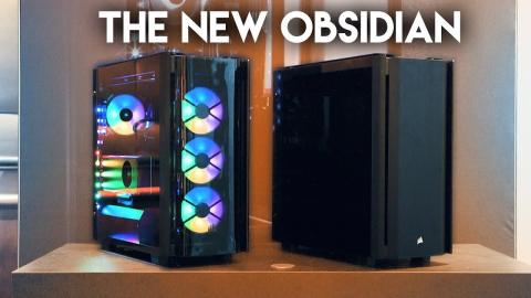 THE NEW CORSAIR OBSIDIAN 500D CASE!