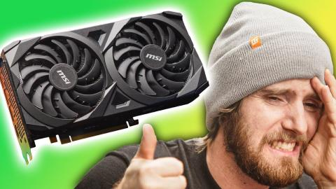 I'm still mad… but buy it anyway - RTX 3060 Review