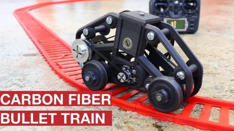 CARBON FIBER BULLET TRAIN