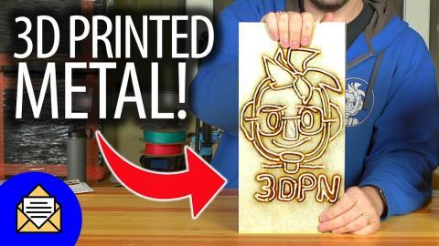 Fan Mail Friday IS BACK - 3D Printed Metal Joelbot Head!