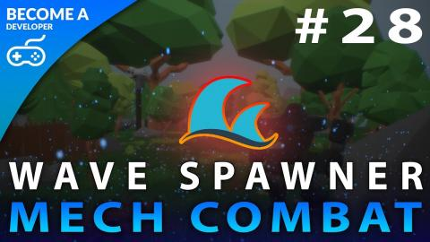 Wave Spawning System - #28 Creating A Mech Combat Game with Unreal Engine 4