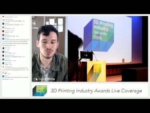 3D Printing Industry Awards 2018 // Live Coverage