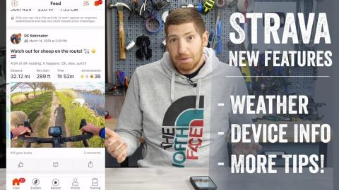 Quick New Feature Tips: Strava's Added Weather & Device Type to App