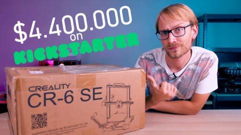 Was Live: Unboxing Creality's Kickstarter Wunderkind - CR-6 SE!