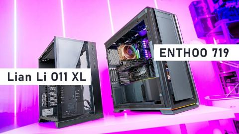 The BEST Full Tower Cases? O11 XL vs Enthoo 719 (Luxe 2)
