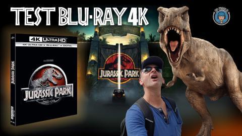 TEST du Blu-ray UHD/4K de Jurassic Park : je m'attendais à MIEUX !
