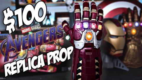 $100 Avengers Endgame Power Gauntlet Review! Nano Gauntlet   Hasbro Toys Marvel Legends Unboxing