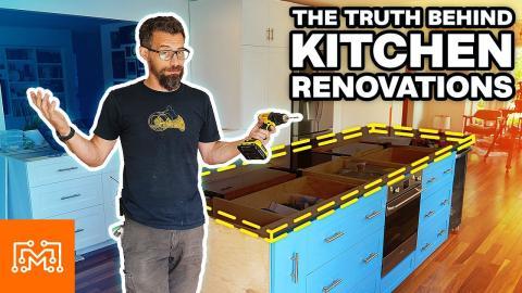 Kitchen Renovations Aren't Like TV Shows!   I Like To Make Stuff