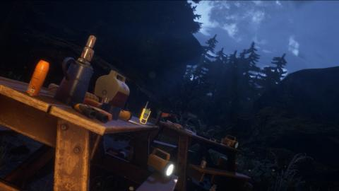Camping Park (Night Version / Unreal Engine 4)